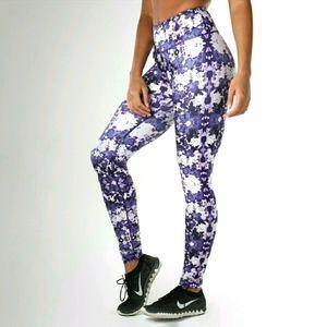 Gymshark Purple Tie Dye Full Length Leggings sz S